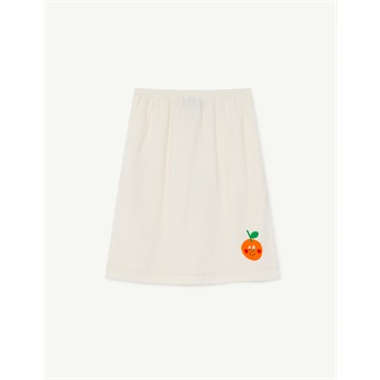 Kitten Skirt White Fruit