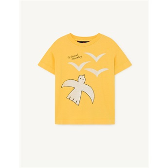 Rooster T-Shirt Yellow Birds