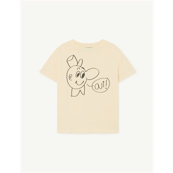 Rooster T-Shirt Yellow Oui