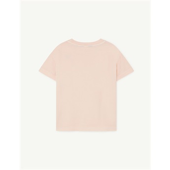 Rooster T-Shirt Rose Orange