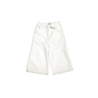 Canvas Pants White