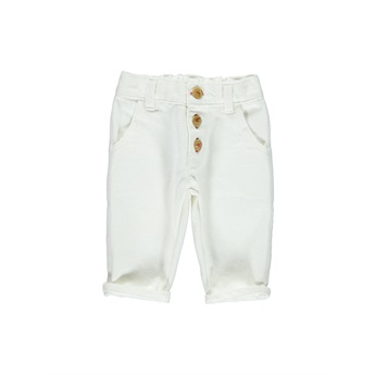 Baby Trousers Off White