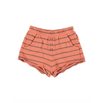 Shorts Coral Stripes
