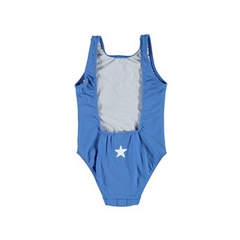 Swimsuit With Buttons Indigo Blue