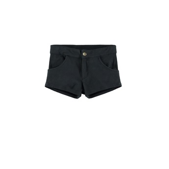 Mini Jeans Shorts Black