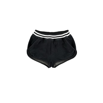Towel Shorts Black