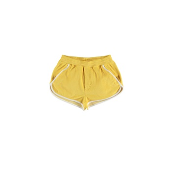 Towel Shorts Yellow