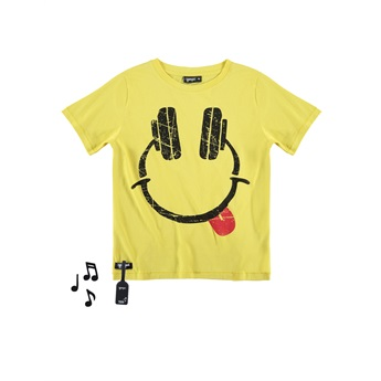 Headphones Tee With Sound