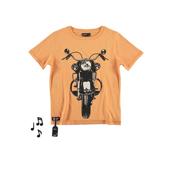 Motorbike Tee With Sound