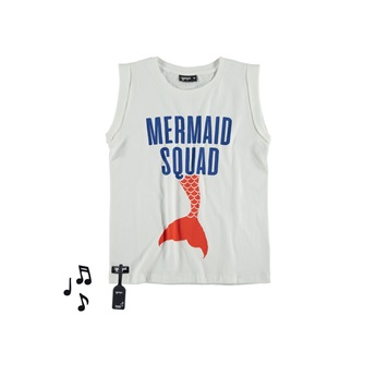 Mermaid Fold Tee With Sound