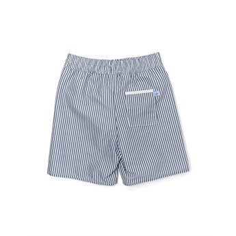 Grey Stripes Swimshorts
