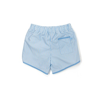 Blue Stripes Swimshorts