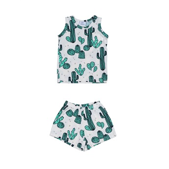 Summer Pyjama Set Forest In The Sand