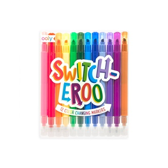 Switch-Eroo Color Changing Markers - Set of 6