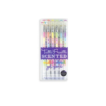 Tutti Frutti Gel Pens - Set of 6