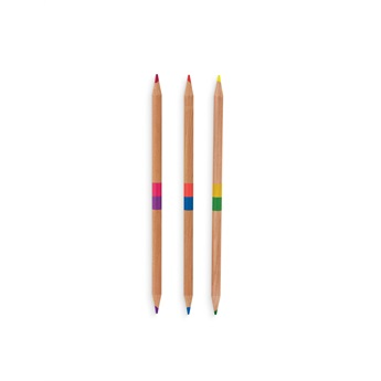 Two Of A Kind Coloured Pencils - Set of 12