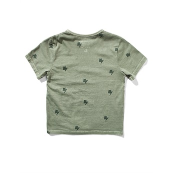 Bolts Tee Washed Olive