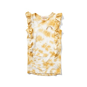 Above The Clouds Dress Clay Tie Dye