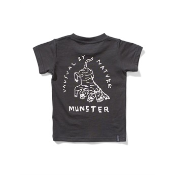 Baby Black Cat Tee Soft Black