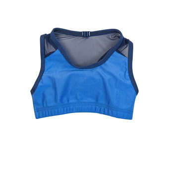 Girl Blue Sports Top