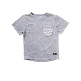 Pak Tee Washed Grey