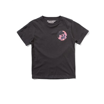 Camo Hole Tee Soft Black