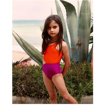 Jenny One Piece Swimsuit Poppy Seed Violet