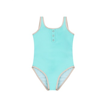 Charlotte One Piece Swimsuit Tropical Blue