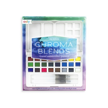 Chroma Blends Travel Watercolour Palette
