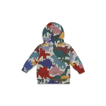Baby Dinos All Over Hooded Sweatshirt