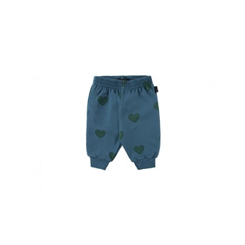 Baby Hearts Sweatpants Blue / Dark Green