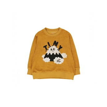 Tiny Fuji Sweatshirt Mustard / Navy