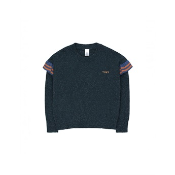 Tiny Frills Sweater Navy