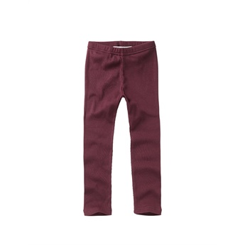Rib Leggings Plum