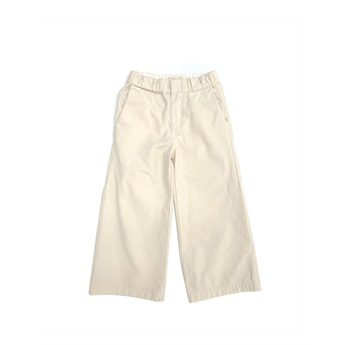 Natural Canvas Pants