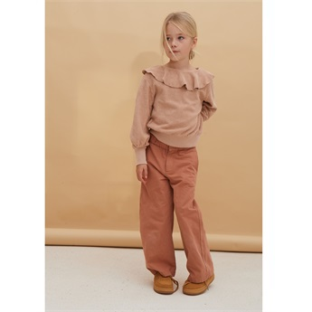 Red Dust Canvas Pants
