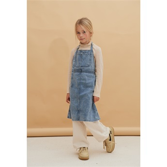 Apron Dress Blue Denim