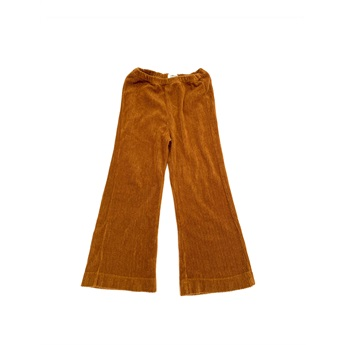 Flared Pants Golden Brown