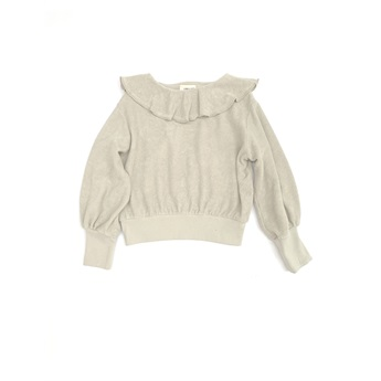 Volant Terry Sweater Frost