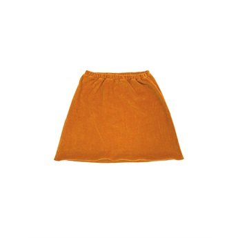 Velvet Skirt Rusty Orange