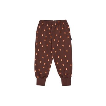 Mushrooms Sweatpants Ultra Brown / Red