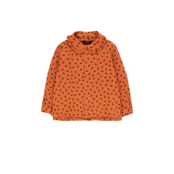 Tiny Flowers Shirt Sienna / Navy