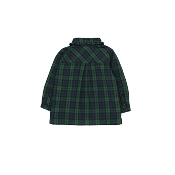 Check Shirt Dark Green / Navy