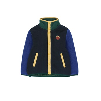 Color Block Polar Jacket Navy / Blue