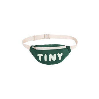Tiny Solid Fanny Bag Dark Green
