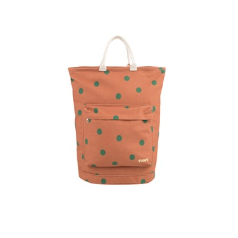 Big Dots Totepack Sienna / Dark Green