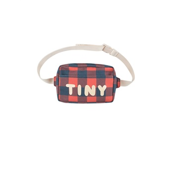 Check Fanny Bag Navy / Red