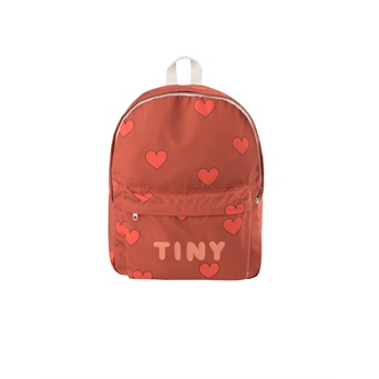 Hearts Big Backpack Sienna / Red