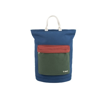 Color Block Totepack Light Navy
