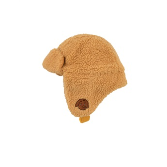 Tiny Dog Sherpa Chapka Camel